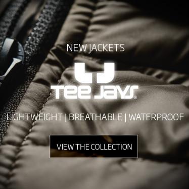 Nouvelles vestes Tee Jays maintenant en stock !