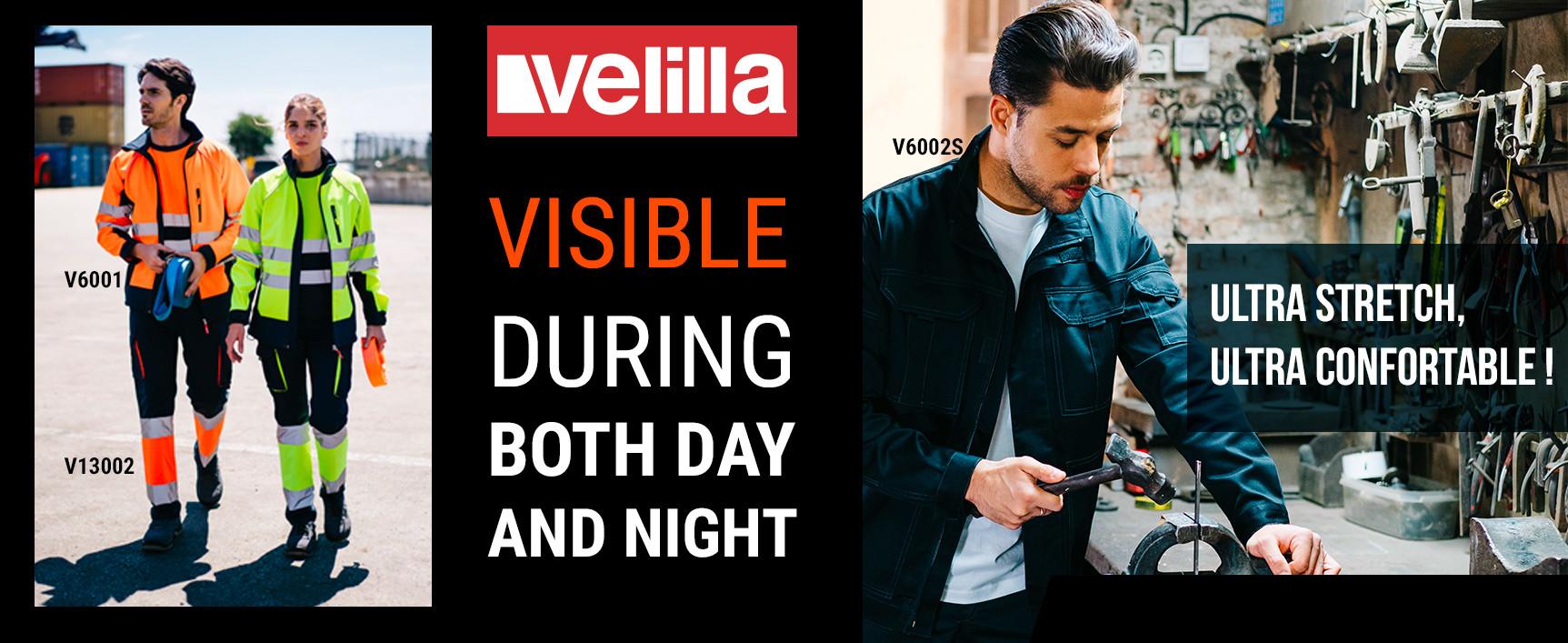 Velilla : Haute visibilité et Stretch
