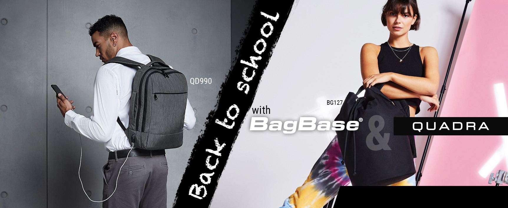 BagBase - Quadra : Back to school !